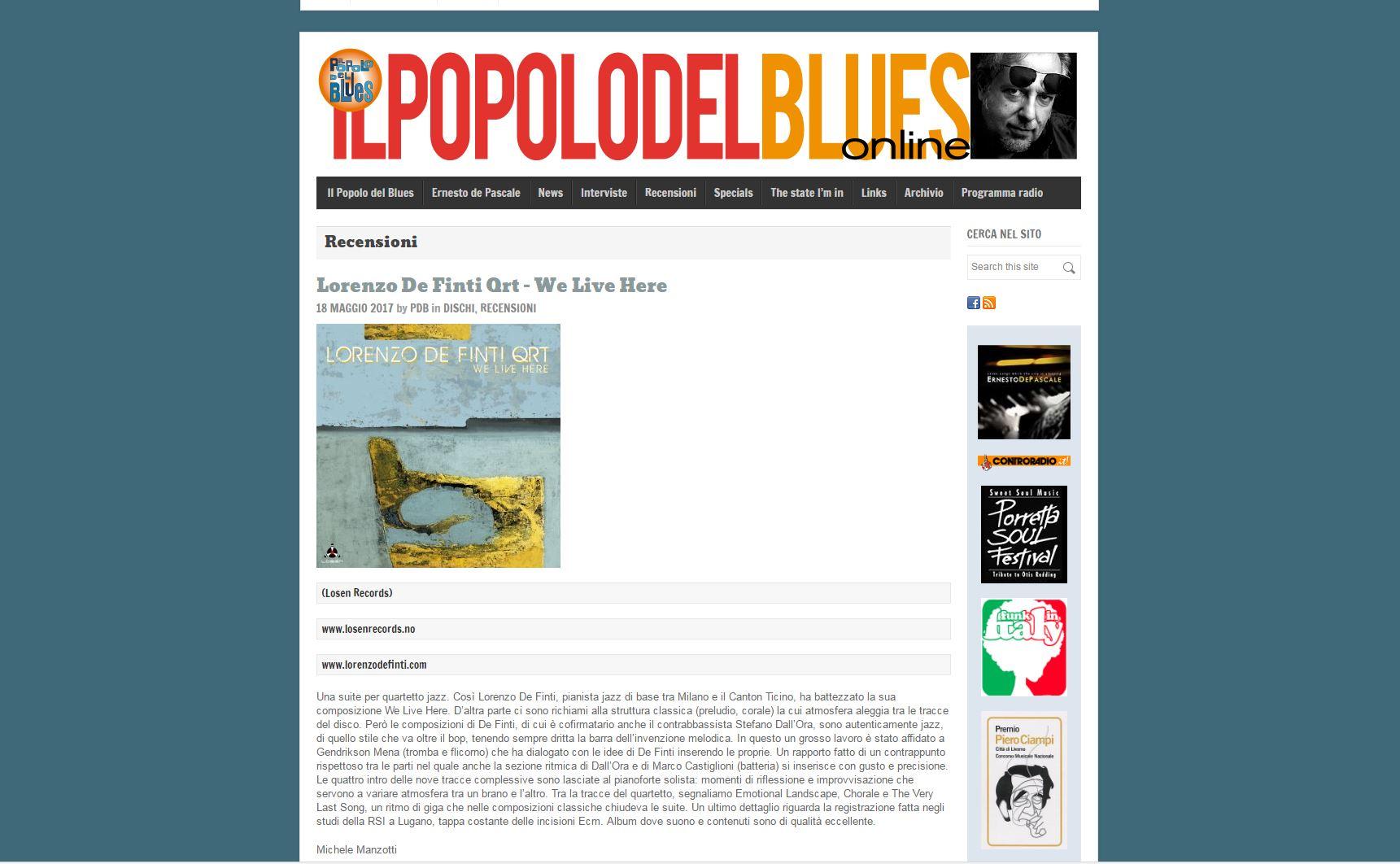 popolo del blues